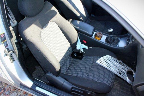 Fotel kierowcy lewy Mercedes C-klasa W203 2006 Coupe