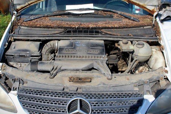 Szyba drzwi przód lewa Mercedes Vito W639 2004