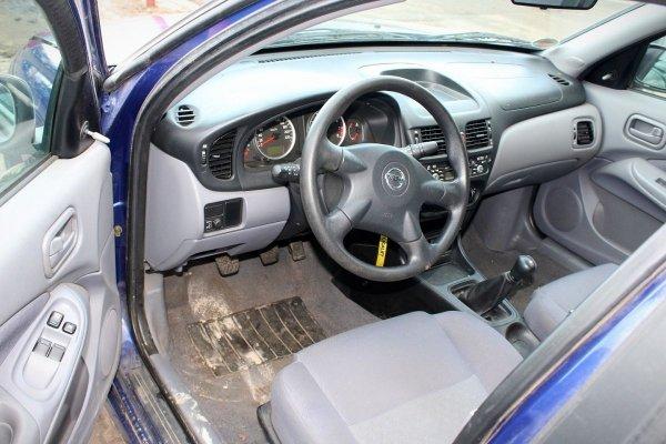 Drzwi tył prawe Nissan Almera N16 2003 (Kod lakieru: BW6)