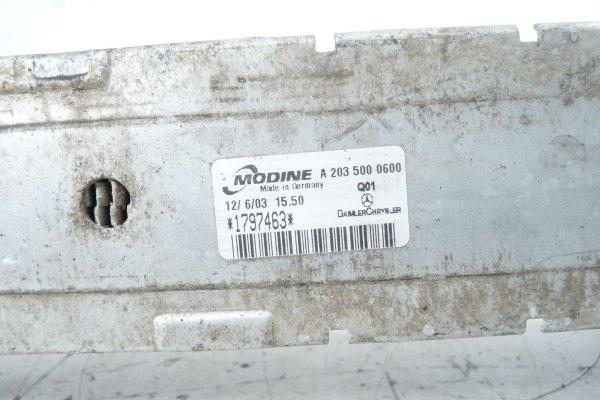 Intercooler chłodnica powietrza Mercedes CLK 2003 2.7CDI