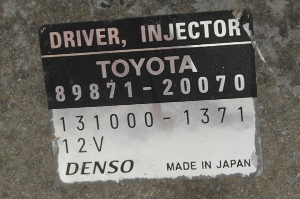 Sterownik wtryskiwaczy Toyota Avensis T25 2003-2008 2.2 D-CAT