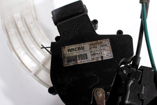 Zamek drzwi tył prawy Kia Magentis MG 2006 Sedan (6 pinów)