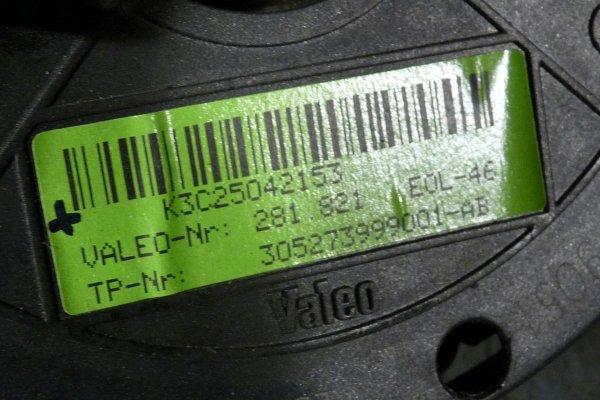 Konsola airbag sensor pasy Mercedes A-klasa W169 2004