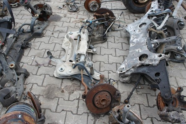 Sanki wózek ława silnika Renault Laguna II 2003 2.0i 16V