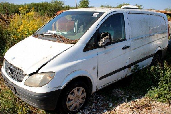 Podnośnik szyby przód prawy Mercedes Vito W639 2004 (elektryczny)