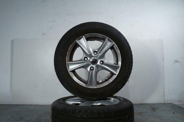 Felgi aluminiowe alufelgi R14 4x114.3 Mitsubishi Colt Z30 2007 1.1i