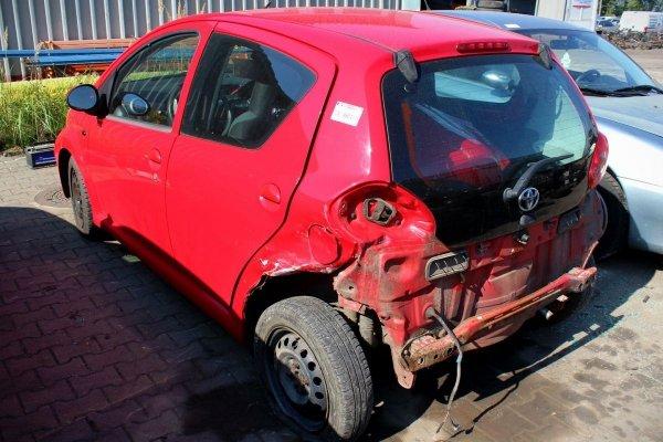 Lusterko prawe Toyota Aygo 2005 Hatchback 5-drzwi (kod lakieru: 3P0)