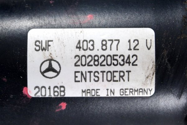 Mechanizm wycieraczki przód - Mercedes - C-klasa - zdjęcie 8