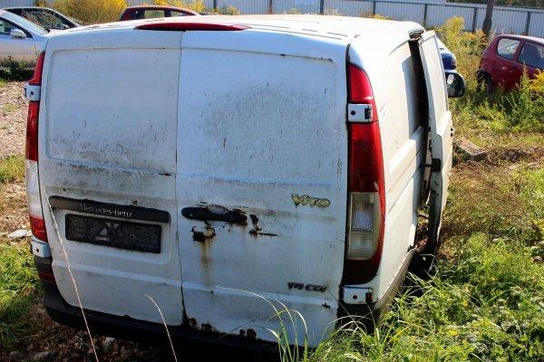 Zderzak tył Mercedes Vito W639 2004
