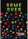 GAME OVER Zeszyt w 3 Linie ST.RIGHT 32 KARTKOWY