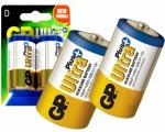 GP ULTRA PLUS Baterie Alkaliczne LR20 size D 1,5V