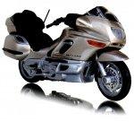 MOTOR BMW K1200 LT MOTOCYKL Welly 1:18 ŚCIGACZ
