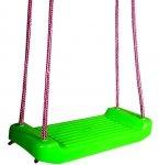 Ogrodowa HUŚTAWKA dla Dzieci DESKA Plastikowa Zielona