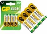 GP SUPER Baterie Alkaliczne LR6 AA 4 Sztuki