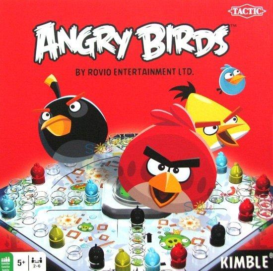 Gra Planszowa Chinczyk Angry Birds Kimble Tactic Gry Lodz Solei Babe Sklep Z Zabawkami