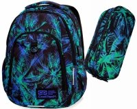 CoolPack PLECAK STRIKE L Palms Tangle 18030 Saszetka 2w1