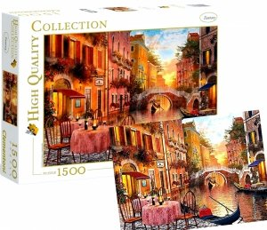 Puzzle WENECJA 1500 Elementów 31668 Venesia Clementoni