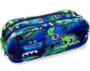 SASZETKA Piórnik CLEVER Wiggly Eyes Blue B65034 Coolpack