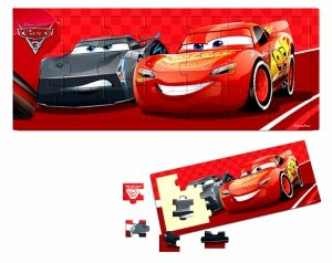 Playme DUŻE Puzzle Drewniane UKŁADANKA Cars Auta