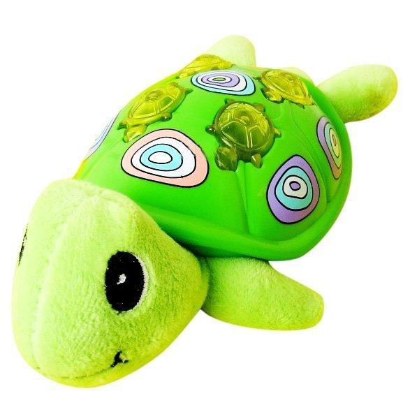 MUZYCZNE ZWIERZAKI ŻÓŁW Żółwik EDU-FUN Dźwięk Światło