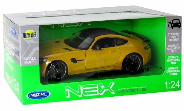 MERCEDES AMG GT R Auto METAL MODEL Welly 1:24