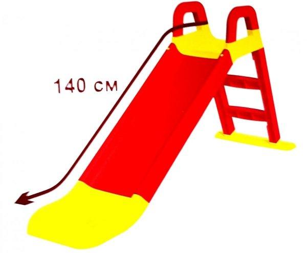 DUŻA Stabilna ZJEŻDŻALNIA dla Dzieci OGRODOWA 140 cm