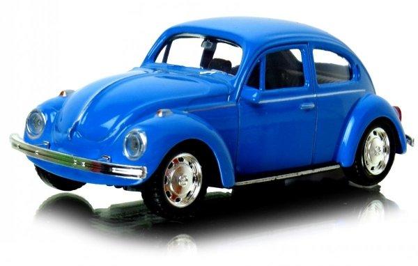 Tir CIĘŻARÓWKA SCANIA Laweta + VW Beetle Welly METAL
