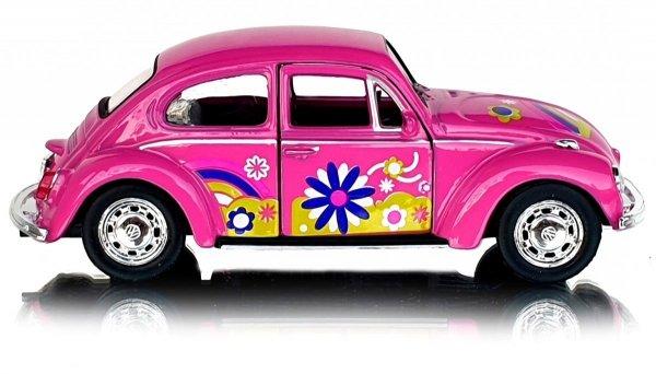 Auto VOLKSWAGEN Beetle METALOWY MODEL Welly 1:34