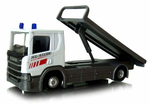 Tir CIĘŻARÓWKA SCANIA Laweta + Chevrolet Welly METAL