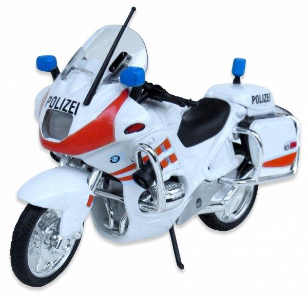 Motor BMW R 1100 RT MOTOCYKL POLICE Welly 1:18 ŚCIGACZ