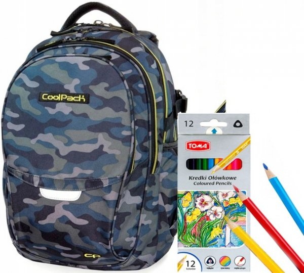 PLECAK CoolPack FACTOR Military MORO 29L 2w1 B02008