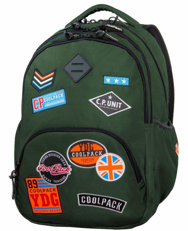 CoolPack PLECAK BENTLEY Badges Green 30L B24054 3w1 Latarka