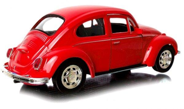 VOLKSWAGEN Beetle Auto METALOWY MODEL Welly 1:34