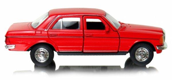 MERCEDES BENZ W123 Metalowy MODEL AUTO Welly 1:34
