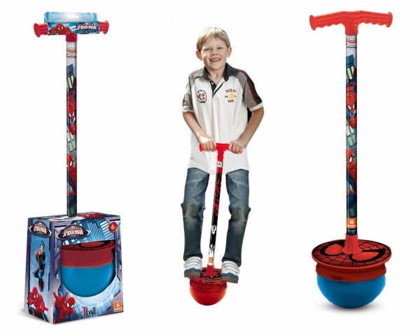 T-Ball Pogo SPIDER-MAN Skoczek HOPPER  Mondo