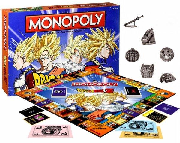 Gra MONOPOLY DRAGON Ball Z Edycja PL Limitowana