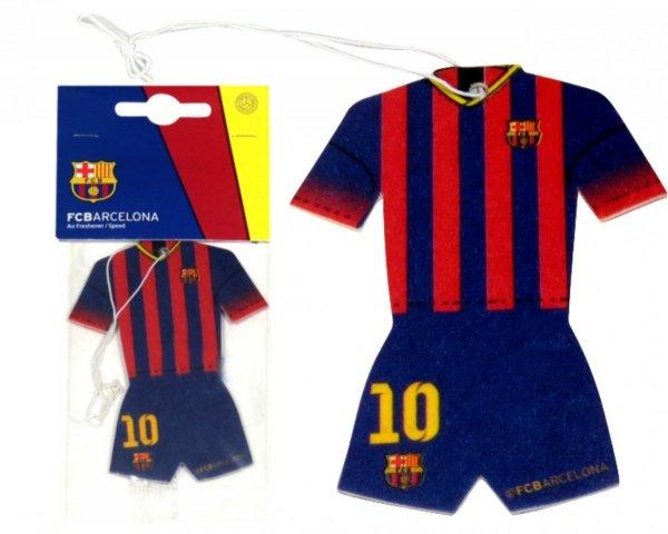 ODŚWIEŻACZ Powietrza FC Barcelona ZAPACH Wanilia