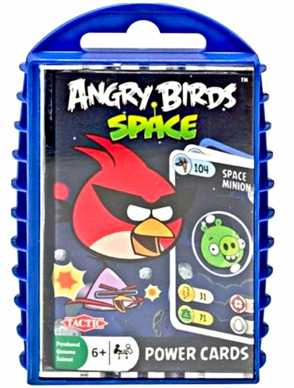 Gra Karciana ANGRY BIRDS Space Power Cards Tactic