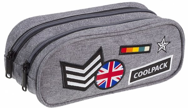 CoolPack PLECAK BENTLEY Badges Grey 30L B24052 3w1