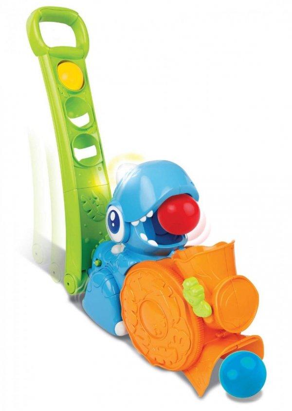 Smily Play DINOZAUR PCHACZ z Piłeczkami 000673