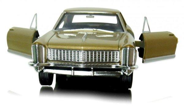 1965 BUICK RIVIERA Gran Sport Welly METALOWY MODEL 1:34