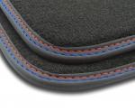 F3H02000 Dywaniki welurowe Premium SAAB 95 9-5 1998-2010 3 stopery