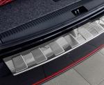 AUDI A6 C7 Sedan 2011-2018 Nakładka na zderzak TRAPEZ Satin