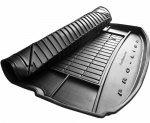 Mata bagażnika gumowa VOLKSWAGEN Golf VIII od 2019 Hatchback górna podłoga bagażnika, wersja z wnękami bocznymi, pasuje do wersji z kołem zapasowym(pełnowymiarowym)