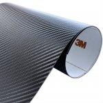 Folia Carbon Czarny 3M CA421 90x100cm