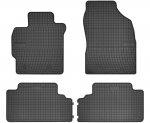 Dywaniki gumowe czarne TOYOTA Auris 2007-2013 | Corolla E14 E15 2006-2013