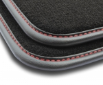 F3G00000 Dywaniki welurowe Premium FORD Mondeo III 2000-2007 2 stopery