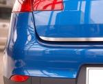 MITSUBISHI LANCER X 5D HATCHBACK od 2007 Listwa na klapę bagażnika (matowa)