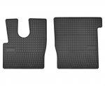 Dywaniki gumowe czarne DAF XF 106 Euro6 od 2014