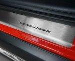 MERCEDES A W169 3D HATCHBACK 2004-2012 Nakładki progowe STANDARD mat 2szt